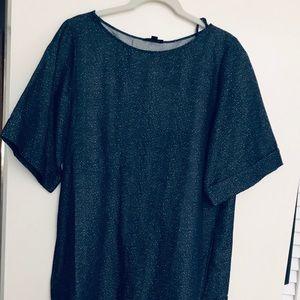 COS cotton / linen blend dress size 12